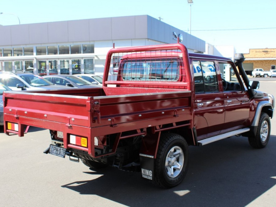 2016 Toyota Landcruiser VDJ79R GXL Cab chassis - dual cab