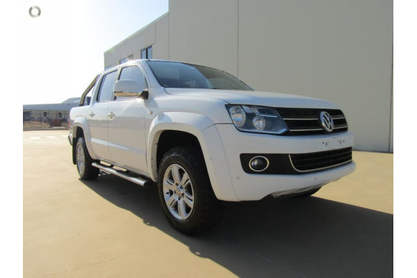 2013 MY14 Volkswagen Amarok 2H MY14 TDI400 Cab chassis Image 3