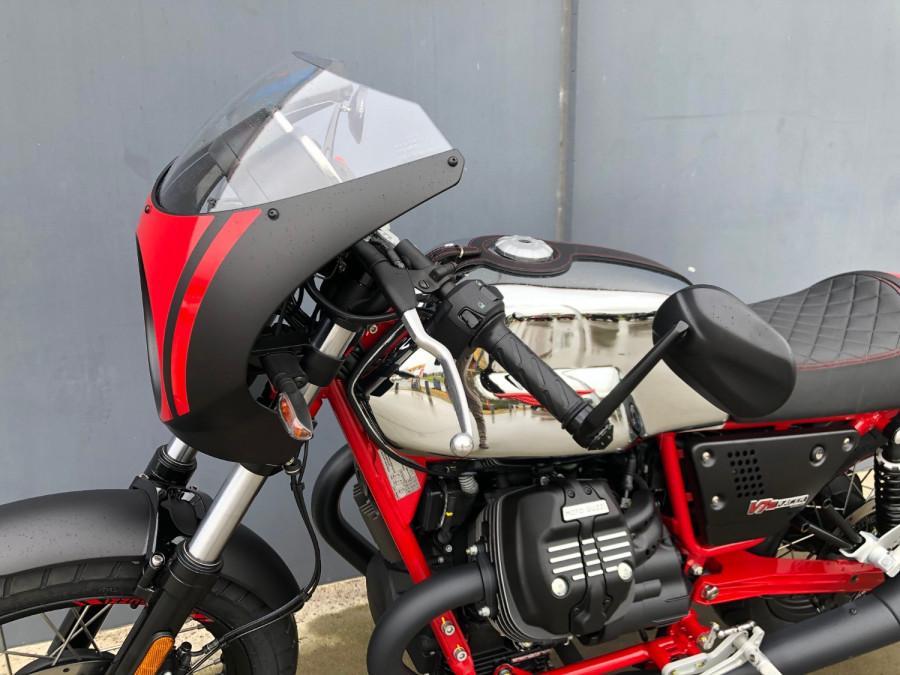 2020 Moto Guzzi V7 Racer III 10th Ann Motorcycle Image 20