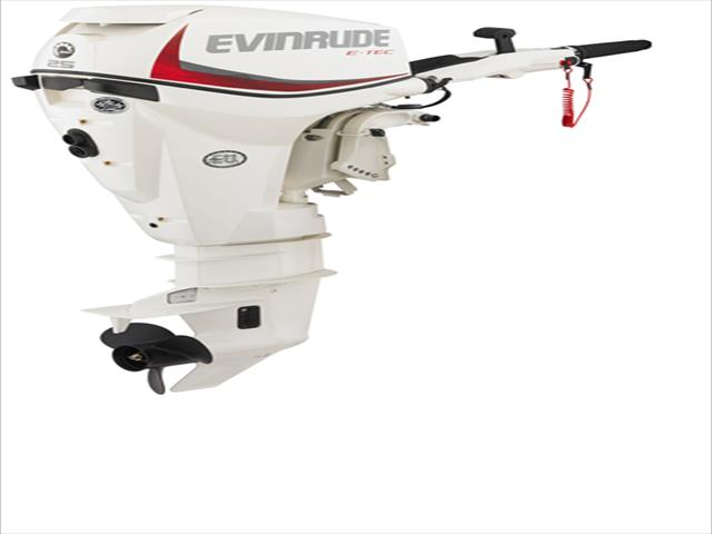 2017 Evinrude White Rope/Electric Boat