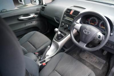 2010 Toyota Corolla ZRE152R Ascent Hatchback