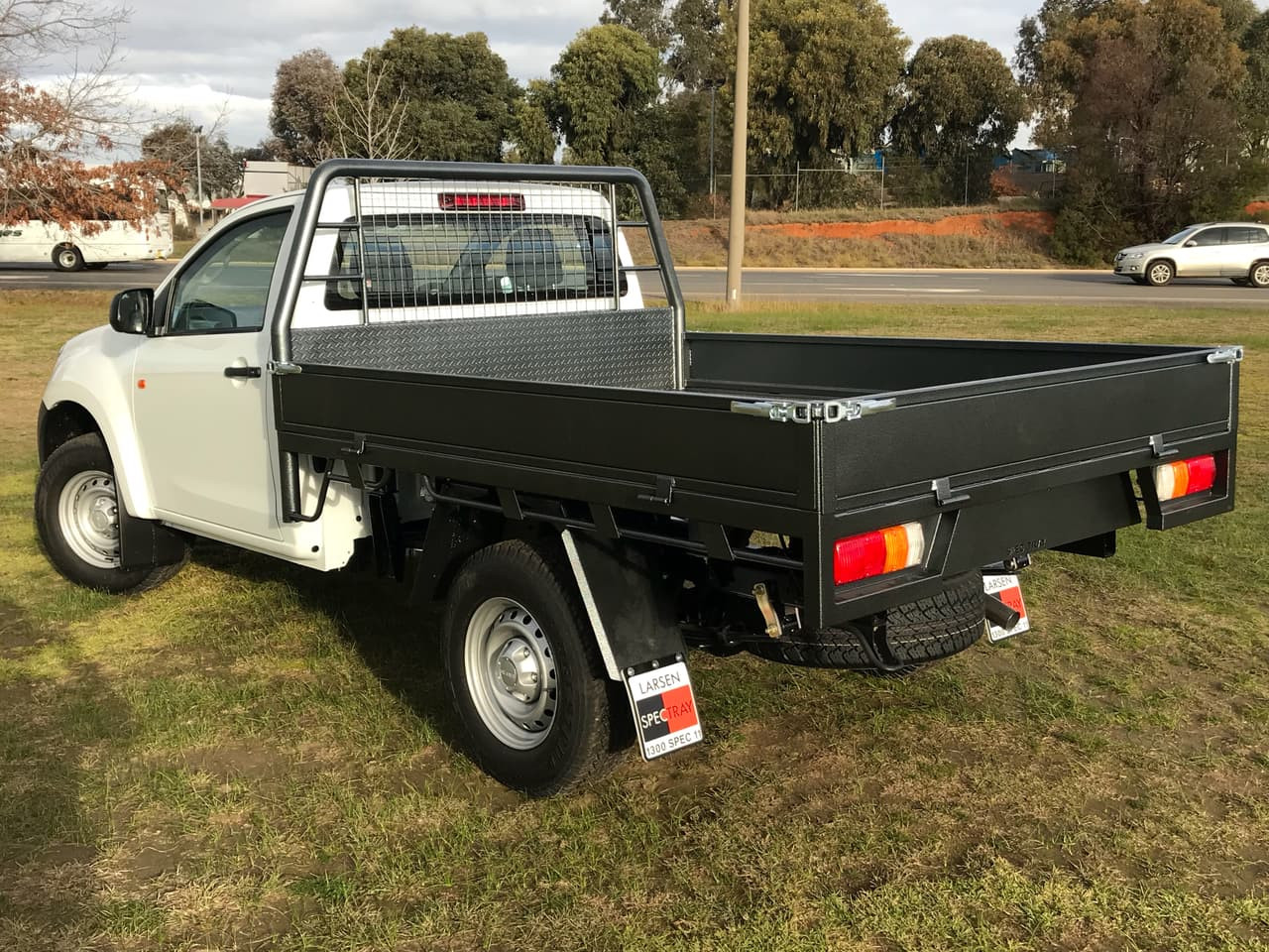 2018 Isuzu UTE D-MAX -- 4x4 EX Single Cab Chassis Single cab