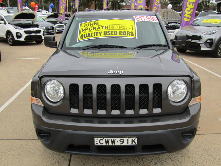 2014 MY15 Jeep Patriot MK Sport 4x2 Wagon Image 8