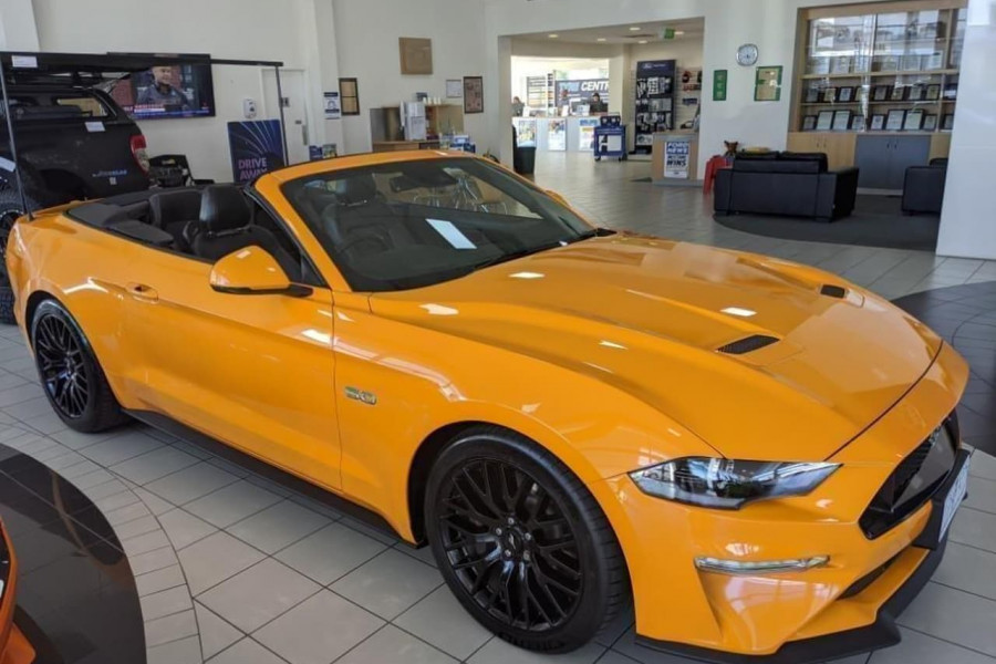 2018 Ford Mustang FN 2018MY GT Convertible