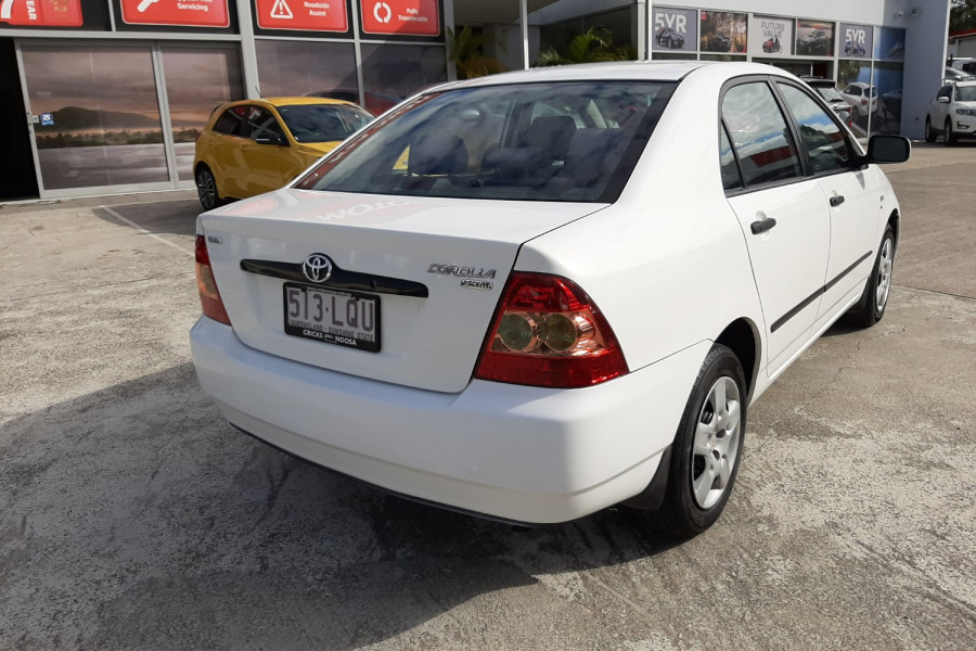 2007 Toyota Corolla ZZE122R 5Y Ascent Sedan