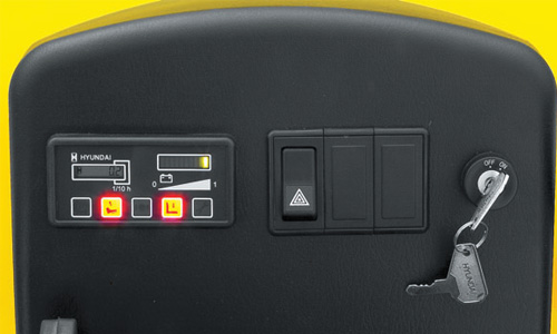 Concentrated Instrument Panel And Switch