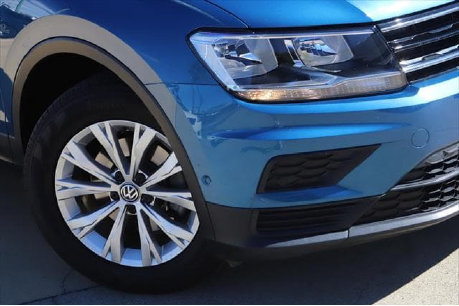 2017 MY18 Volkswagen Tiguan 5N 110TSI Trendline Suv