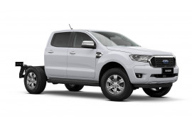 2021 MY21.25 Ford Ranger PX MkIII XLT Double Cab Chassis Cab chassis Image 2