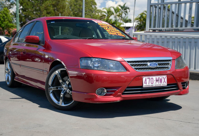 2006 Ford Fairmont BF Mk II Ghia Sedan