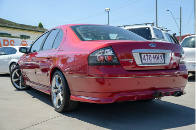 2006 Ford Fairmont BF Mk II Ghia Sedan Image 4