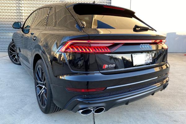 2020 Audi Q8 S 4.0L TDI 320kW Quattro 8Spd Tiptronic Suv Image 3