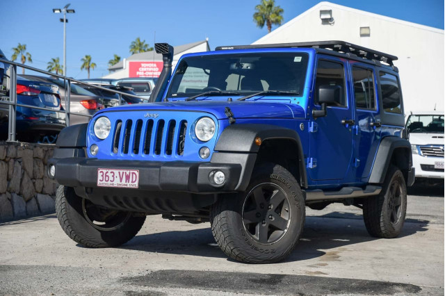 2015 Jeep Wrangler JK MY16 Unlimited Sport Softtop