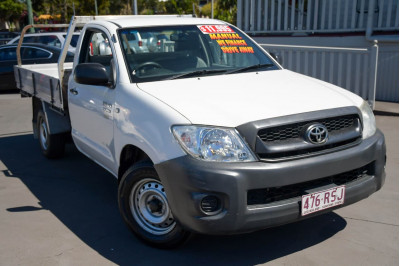 2011 Toyota HiLux TGN16R MY10 Workmate Cab chassis Image 2