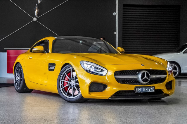 2016 Mercedes-Benz Amg Gt C190 S Coupe Image 1