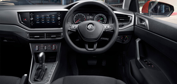 New Polo Connectivity at your fingertips.
