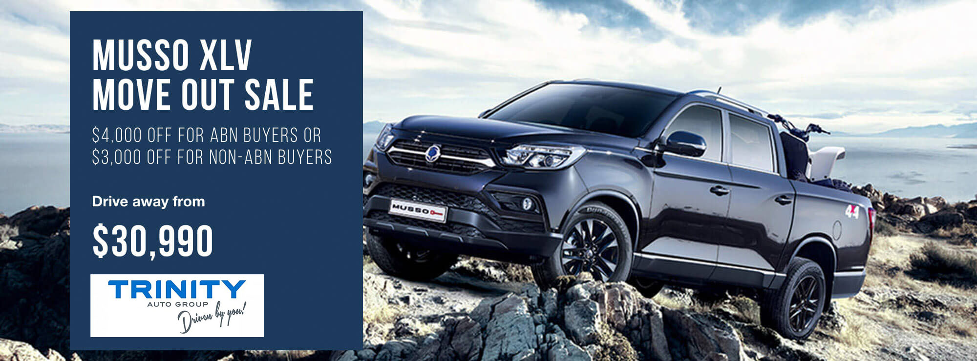 Trinity Auto Group welcome SsangYong to Cairns