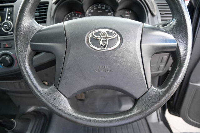 2012 Toyota Hilux TGN16R Workmate Cab chassis Image 16