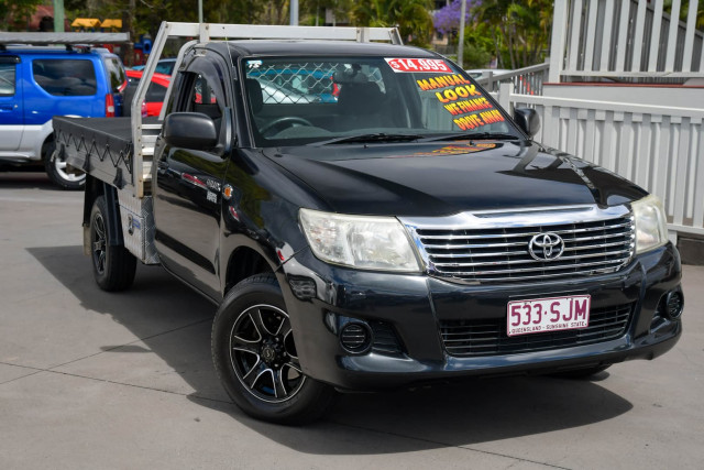 2012 Toyota Hilux TGN16R Workmate Cab chassis Image 1
