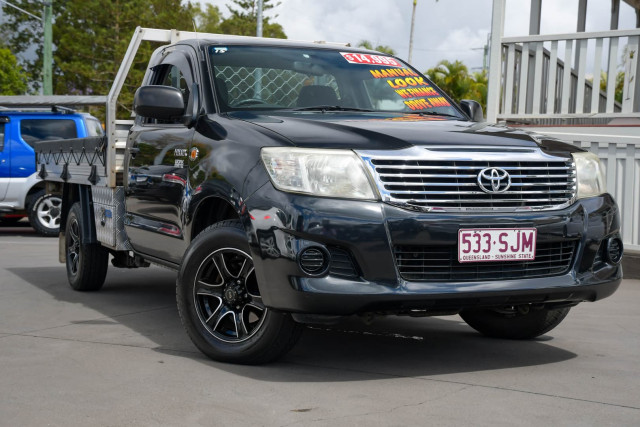 2012 Toyota Hilux TGN16R Workmate Cab chassis Image 2