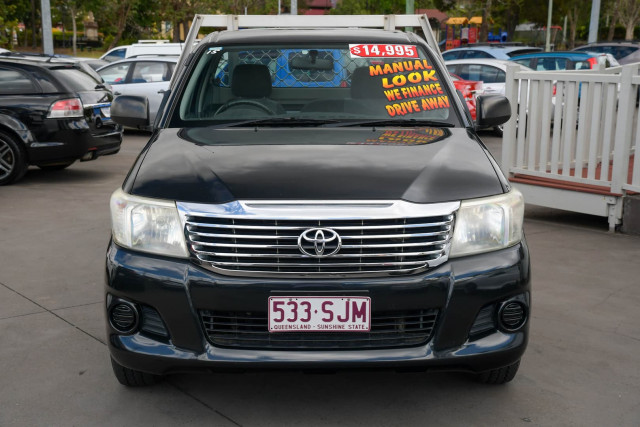 2012 Toyota Hilux TGN16R Workmate Cab chassis Image 3