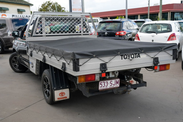 2012 Toyota Hilux TGN16R Workmate Cab chassis Image 4
