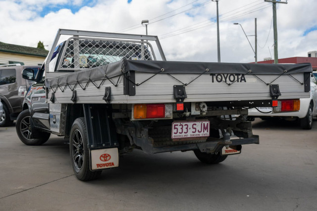 2012 Toyota Hilux TGN16R Workmate Cab chassis Image 5