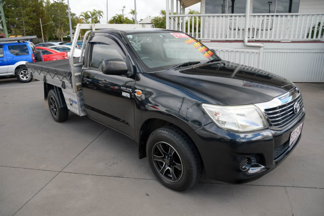 2012 Toyota Hilux TGN16R Workmate Cab chassis Image 9