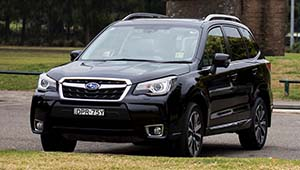 Forester Let all the wheels do all the work