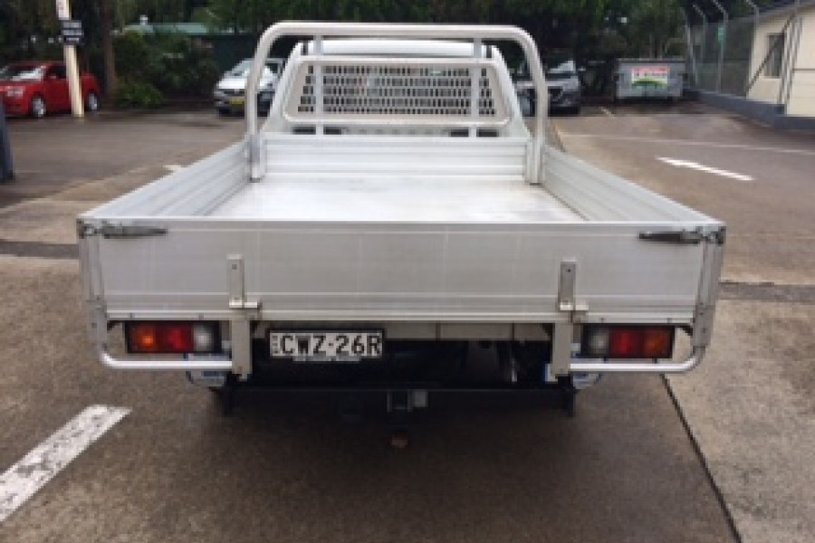 2014 Mazda BT-50 UP0YD1 XT Cab chassis Image 3