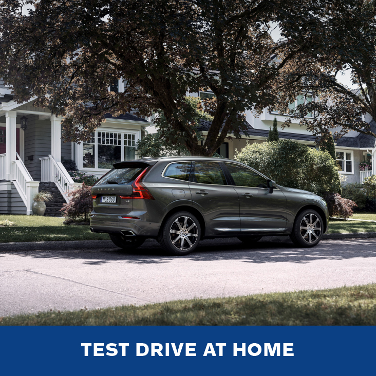 Volvo Test Drive at Home.