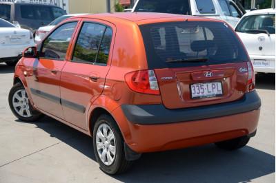 2009 Hyundai Getz TB SX Hatchback Image 3