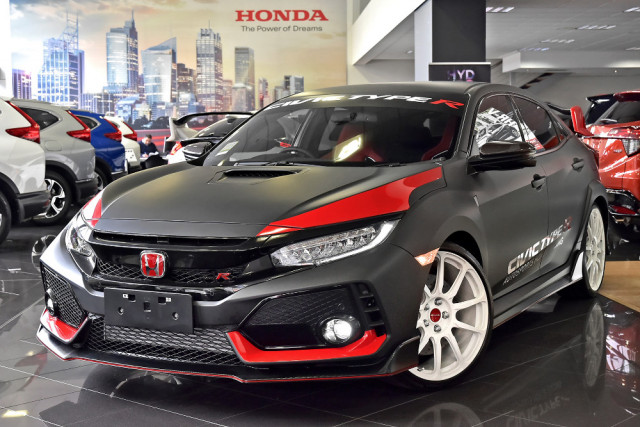 2018 Honda Civic Hatch 10th Gen Type R Hatchback
