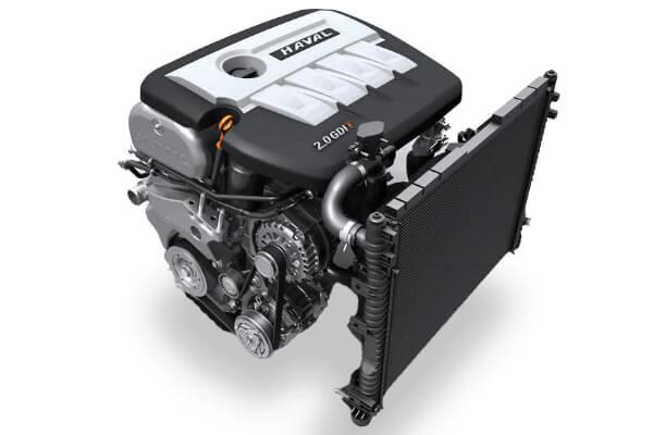 H6 2.0L Turbo Engine