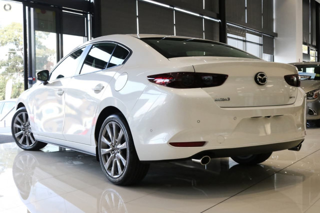 2019 Mazda 3 BP G25 Evolve Sedan Sedan Image 4