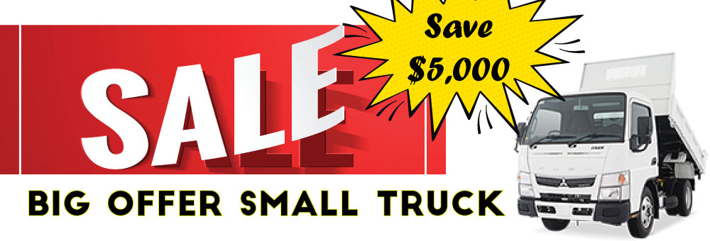 BIG OFFER ON LITTLE TRUCKS