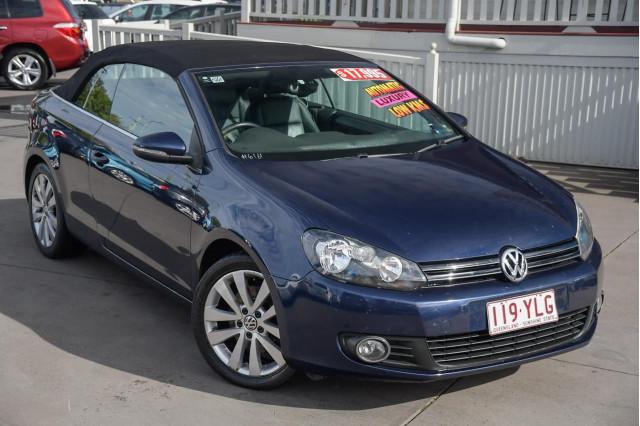 2011 Volkswagen Golf VI MY12 118TSI Cabriolet