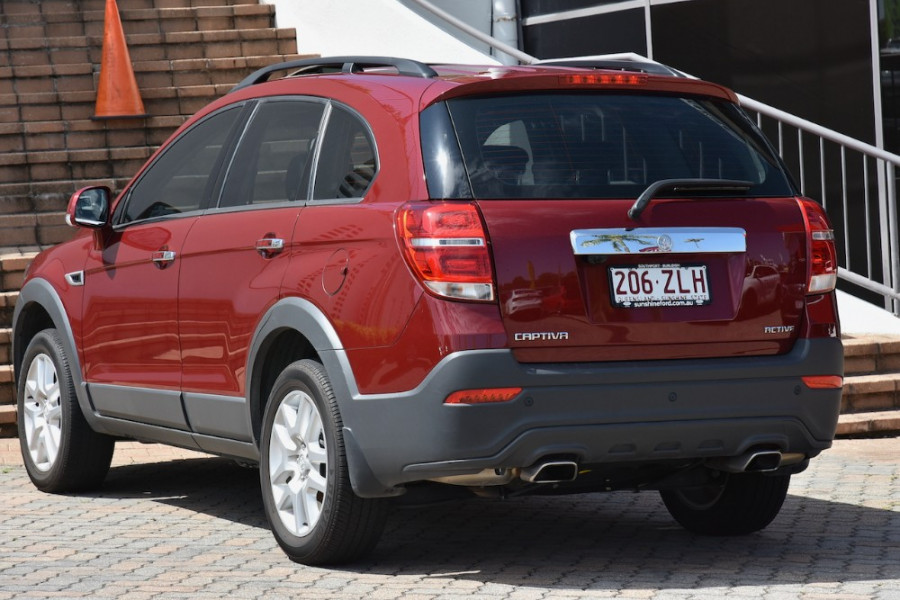 2016 Holden Captiva CG Active Suv
