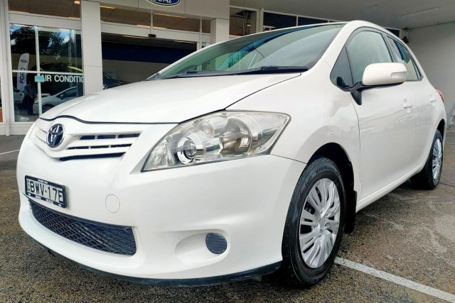 2011 Toyota Corolla Ascent