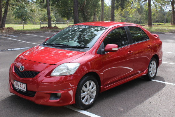 2008 MY09 Toyota Yaris NCP93R  YRX Sedan Image 4