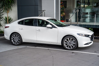 2020 Mazda 3 BP G20 Evolve Sedan Sedan Image 3