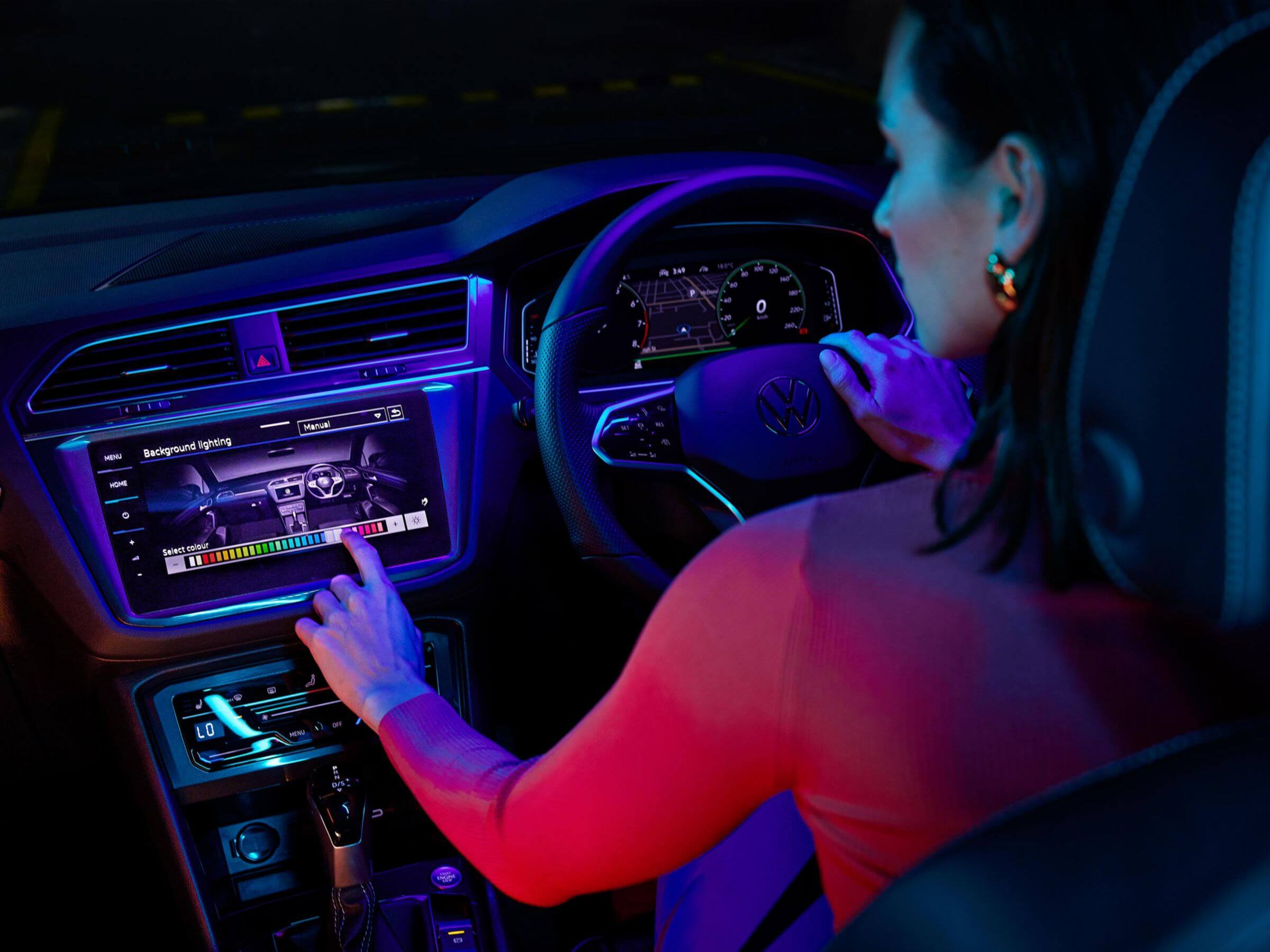 Colour yourself confident Ambient lighting Image