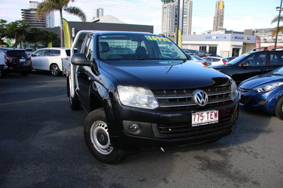2012 MY12.5 Volkswagen Amarok 2H MY12.5 TDI400 Tray back