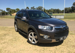 Holden Captiva 7 LX (4X4) CG MY13