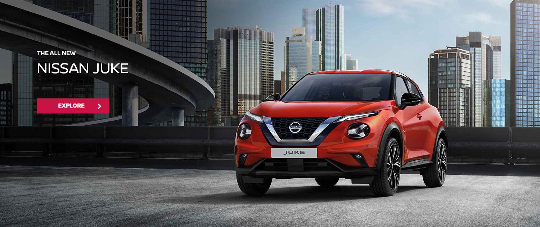 All New Nissan Juke. Bigger. Bolder. Better. Explore now