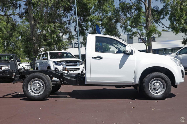 2019 Isuzu UTE D-MAX SX Single Cab Chassis 4x4 Cab chassis Image 4