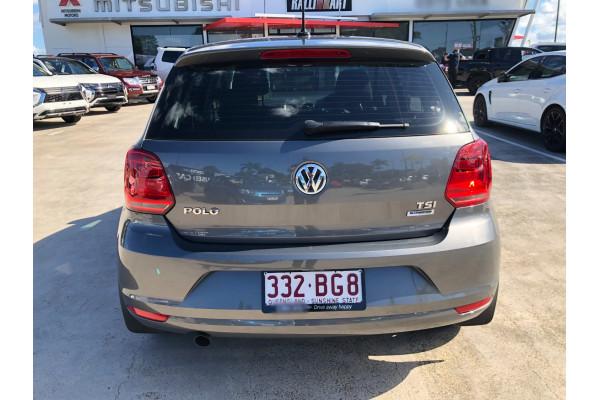2017 Volkswagen Polo 6R  81TSI Comfrtline Hatchback Image 5