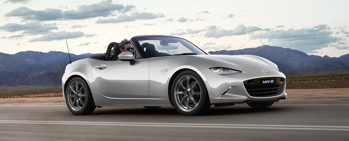 MAZDA PUT NEW MX-5 ON SALE - FOR THE THRILL OF IT!