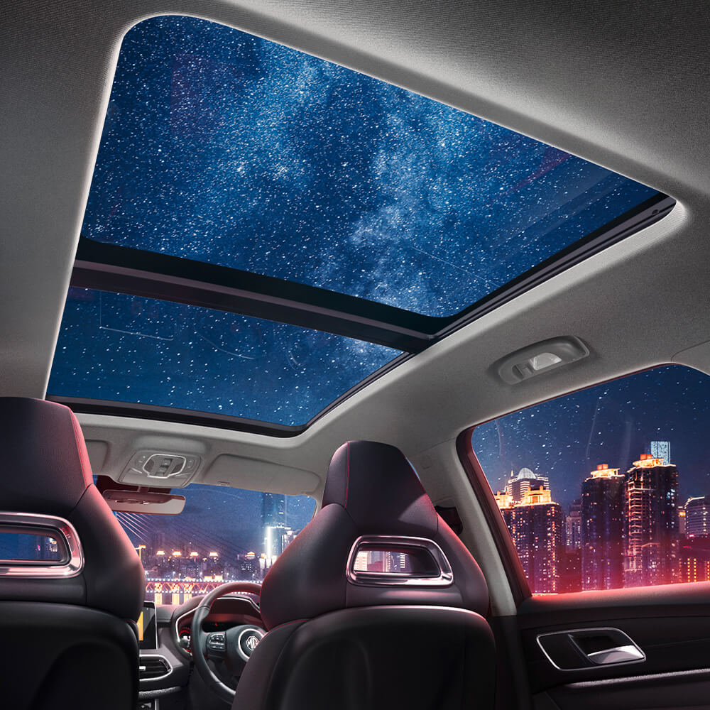 Panoramic Stargazer Sunroof