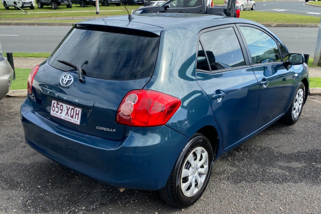 2007 Toyota Corolla ZZE122R 5Y Ascent Hatchback Image 3