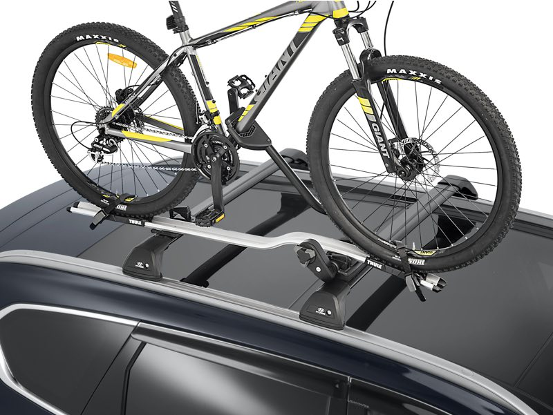Bike carrier - wheel on